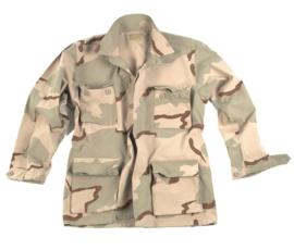 Tactical Field Jacket Desert RIPSTOP - meerdere maten - nieuw gemaakt