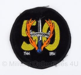 KL Nederlandse leger 50 jaar Stoottroepen 1944-1994 embleem - diameter 9 cm - origineel