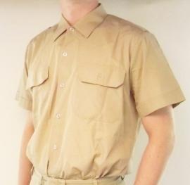 Leger overhemd korte mouw - origineel