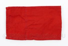 Vintage katoenen rode armband - 17 x 10,5 cm - origineel