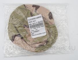 KL Nederlandse leger helmovertrek - Desert 2010 - nieuw in de verpakking - maat Medium - origineel