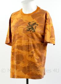 Defensie T-shirt urban orange camo Landmachtdagen  - maat XL - origineel