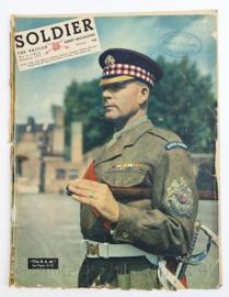 The British Army Magazine Soldier Vol.8 No 11 January 1953 -  Afkomstig uit de Nederlandse MVO bibliotheek - 30 x 22 cm - origineel