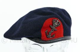 Korps Mariniers baret met insigne 2003 - maat 60 - maker Beatex - origineel