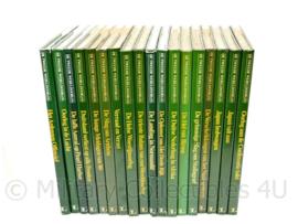 Serie naslagwerken De Tweede Wereldoorlog - 18 boeken - origineel