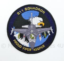 KLU Luchtmacht RNLAF 311 Squadron embleem - Proud viper keeper - diameter 10 cm  - origineel