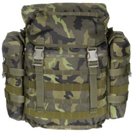 Tsjechische leger M95 camo rugzak voor granaten - nieuwstaat - origineel