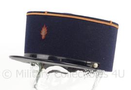 Franse Gendarmerie kepi - maker: Morange - maat 56 - zweetband iets slecht - origineel