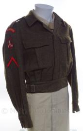 "MVO uniform jasje ""Garde Grenadiers"" - rang ""soldaat der eerste klasse"" - 1954 - maat 48 - origineel"