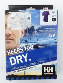 HH Helly Hansen thermisch ondershirt korte mouw HH thermoshirt - HH Workwear - maat L - nieuw in verpakking - origineel