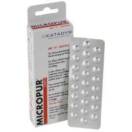 Drinkwater tabletten Katadyn - 100 tabletten. MF 1T
