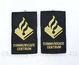 Nederlandse Politie epauletten paar Communicatie centrum - origineel