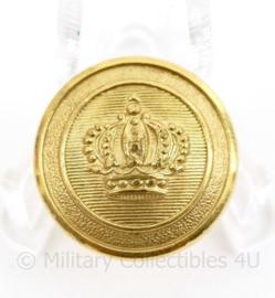 Marine scheepvaart knoop 19 MM goudkleurig - origineel