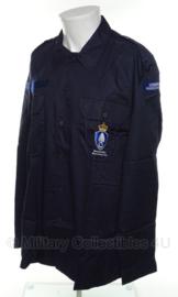 KMAR Marechaussee overhemd VT lange mouw Met insignes  - maat 8000/9500 - NIEUW in verpakking - origineel