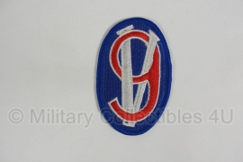 WWII US 95th Infantry Division patch - eigen aanmaak