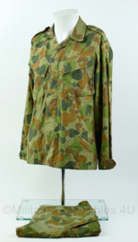 Australisch leger uniformjas met korte broek uit 2008 - jas maat 92S, broek 90S - Origineel