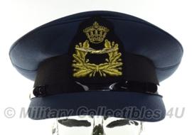 KLU Luchtmacht pet officier - Hassing BV - ONGEDRAGEN - maat 59 - origineel