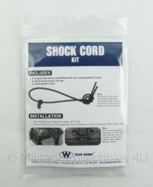KL Nederlandse Leger ballistische helm Wendy Shock Cord kit Coyote brown - NIEUW in verpakking - origineel