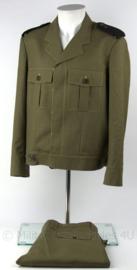 Militaire uniform jas met broek - maat 49 - ongedragen - origineel