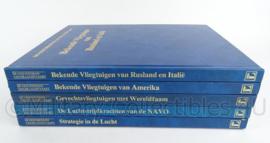 """Boeken set van 5 boeken """"de geschiedenis van de luchtvaart"""" - origineel"""
