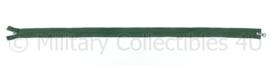 Nieuwe Leger rits groen - 80 x 3cm - origineel