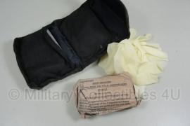Britse leger verband met zwarte tas - origineel