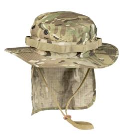Boonie hat / Bush hat -DTC / Multi camo Ripstop - Met nekflap - meerdere maten