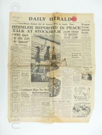 Daily Herald krant - 1 May 1945 - origineel