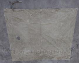 WO2 US khaki tentzeil - 138 x 158 cm. - origineel
