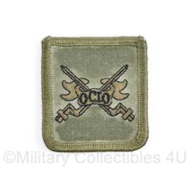 Defensie borst eenheid embleem OCIO Opleidings Centrum Initiele Opleidingen - met klittenband - 5 x 5 cm - origineel