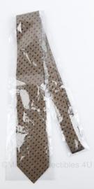Gemeentepolitie Utrecht stropdas - bruin gestippeld  - nieuw in verpakking - origineel