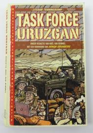 Boek Task Force Uruzgan - De Militairen Zelf Aan Het Woord Over Hun Ervaringen In Afghanistan - afmeting 21 x 13 cm - origineel