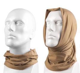 Multifunctioneel hoofddeksel - muts, balaclava, sjaal, hoofdband, etc. - COYOTE