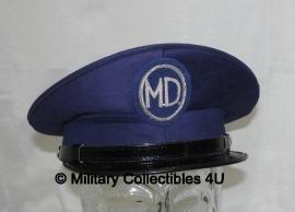 "Italiaanse Marine visor cap met tekst ""MD""- origineel"