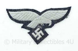 Luftwaffe Borstadelaar op graublau - manschappen -hand gestikt luxe variant