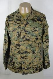 USMC Marpat woodland camo Uniform jas - topstaat - meerdere maten - origineel