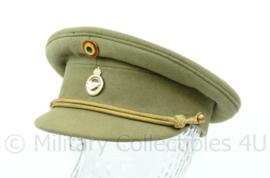 Belgische leger pet  jaren 60 of 70  - maat 6 = mt 54 - origineel