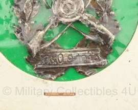 Schietprijs - opschrift O&O 9-10-13 - 5 x 5 cm - 1913 - origineel