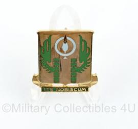 US 12th Armored Division unit crest 714th tank batalion Unit crest speld  - 3 x 2,5 cm  -origineel