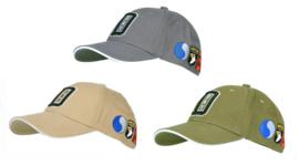 Baseball cap - D day uitvoering - met patches van alle divisies - Green, Khaki of Wolf grey