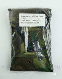 Korps Mariniers Forest Woodland camo opbouwtas voor veldfles - NIEUW in verpakking - origineel