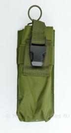 Defensie originele radio pouch Molle green - 20 x 9 x 4 cm - nieuw - origineel