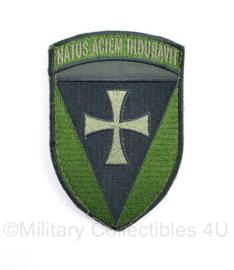 Oekraïense leger embleem Nactus Aciem Induravit - met klittenband  - 11 x 7 cm - origineel