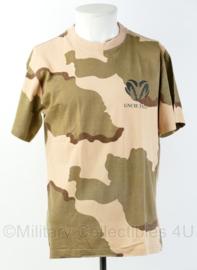 KL Nederlandse leger desert camo Geniecompagnie GNCIE TFE-6 shirt - gedragen - maat XL - origineel