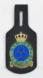 KLU Luchtmacht DT borsthanger KKSL Koninklijke Kader School Luchtmacht Schaarsbergen - 9 x 4 cm - origineel
