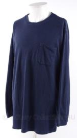 Nederlandse Politie sweater trui zonder emblemen heren of dames - ronde hals - meerdere maten - origineel