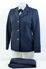 KLU Luchtmacht dames DT uniform set met rok uit 1980 - rang officier - maat 36 - origineel
