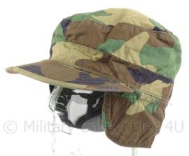 US Army woodland cap - maat 7 1/8 - origineel