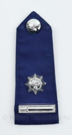 Korps Rijkspolitie enkele epaulet - Dirigerend Officier 3e Klasse - 13 x 5 cm - origineel