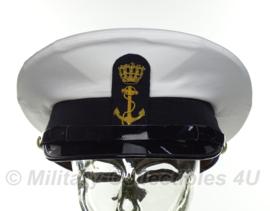 Koninklijke Marine platte pet MODERN MODEL - maat 59 - origineel